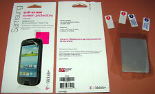 2 x T-Mobile PET clear screen protector for Samsung Galaxy S Relay 4G, 2 in pkg