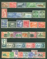 Commonwealth  King George V1 Fine Selection of MINT & MNH Stamps. all KGV1