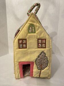 Pottery Barn Kids  Soft Fabric Cloth Dollhouse