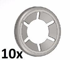 10 Stück Starlock 6 mm Unterlegscheibe Sicherungsscheibe Achs-Klemmring verzinkt