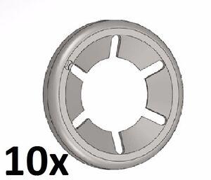 10x Starlock 4,8mm 3/16'' Zoll Unterlegscheibe Sicherungsscheibe Achs-Klemmring