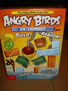 ANGRY BIRDS..ON THIN ICE..GAME..MATTEL..2011..NEW SEALED CONTENTS