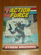 ACTION FORCE #37 14TH NOVEMBER 1987 MARVEL BRITISH WEEKLY COMIC
