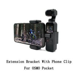 FOR STARTRC DJI OSMO Pocket Accessories - Extension Bracket w/ Phone Clip Holder