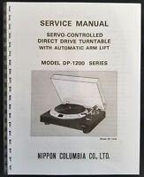 denon dp 3000 service manual
