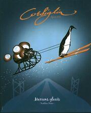 Publicité contemporaine issue de magazine Corsiglia marrons glacés