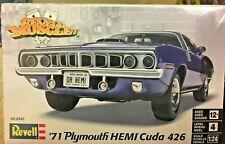 1/24 '71 Plymouth HEMI Cuda 426 ~ Revell