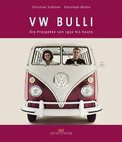 VW BULLI Die Prospekte von 1950 bis heute T 1 2 3 4 5 Brochures Werbung Buch NEU