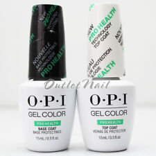 OPI GelColor PRO HEALTH : BASE +TOP COAT 0.5oz DUO PACK SET OF 2 GC 020 040
