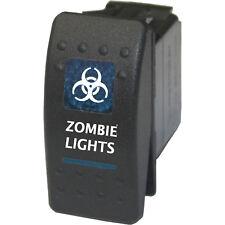 Rocker switch 506B 12V Zombie light ON/OFF BLUE ATV UTV 4wd offroad car truck