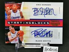 2011 CONTENDERS AUTO BLAKE GRIFFIN ERIC GORDON /49 - russell westbrook guarding