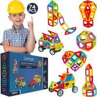 Limmys Magnetic Building Blocks – Unique Travel Series Construction Toys