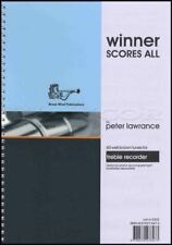 Winner Scores All for Treble Recorder Sheet Music Book 60 Well Known Tunes