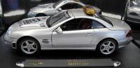 Maisto 1/18 Scale Diecast - 38642 Mercedes Benz SL 55 AMG Sfety Car