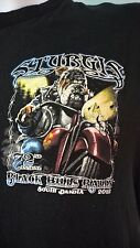 Sturgis 2012 T Shirt Size M 72nd Annual Black Hills Rally Black Bull Dog