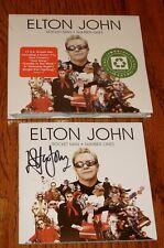 ELTON JOHN  Rocket Man Number Ones Autographed Sealed
