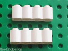 LEGO White brick log ref 30137 / Sets 6093 4728 6089 6083 6713 4795 5988 7074