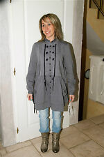 vestido túnica blusa algodón HIGH USE talla 38 nuevo ETIQUETA