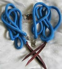7ft Rope Split Reins, Natural Horsemanship, Western, Different Colours Available