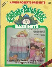 CABBAGE PATCH KIDS BASSINETS XAVIER ROBERTS SEWING PATTERNS BOOK NEW OOP RARE