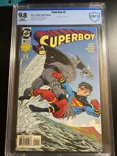 Superboy #9 CBCS 9.8 1st Appearance King Shark The Star of Suicide Squad Movie