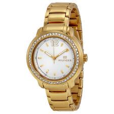 NIB Tommy Hilfiger 1781467 Silver Dial Gold-tone Ladies Watch
