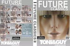 TONI&GUY FUTURE CLASSICS COLLECTION 4 DVDs SET