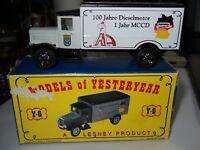 1990 Matchbox Models of Yesteryear Y-6 1932 MERCEDES BENZ L5 LUSTWAGEN code 2