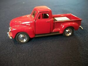 VINTAGE  Welly 1953 CHEVROLET PICKUP1:32 Scale Die-cast Car #43708 Pull-Back