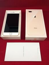 NEW Apple iPhone 8+ Plus Gold White 64GB Cricket A1897 in Box