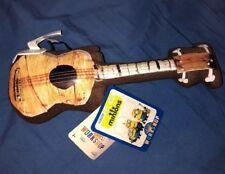 Build A Bear Minions Movie Stuarts Brown Guitar Ukulele For Full Size Plush BABW