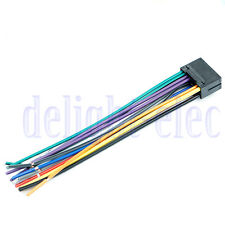 16 pin jvc car stereo radio wire wiring harness plug cabke dg
