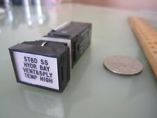 3 pieces Eaton Indicator Light p/n 4723-17  New