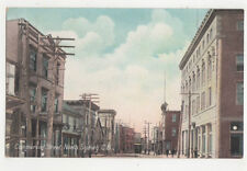 Commercial Street North Sydney Canada Vintage Postcard US046