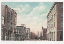 Commercial Street North Sydney Canada Vintage Postcard US046