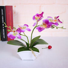 Artificial Silk Phalaenopsis Butterfly Orchid Flowers Bouquet Wedding Home Decor