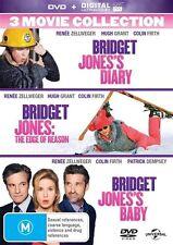 Bridget Jones's 3 Movie Collection : Diary / Edge Of Reason / Baby : NEW DVD