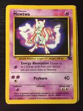 Pokemon - Mewtwo (First Movie) (Pokemon TCG Card) 1999-02 Pokemon Promo Star Wiz