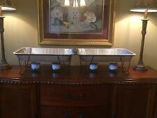 "Buffet Chafer Food Warmer 4 Racks-4 Pans-4 Heat Gel ""Sale"" $49.95 Or 2/$90"