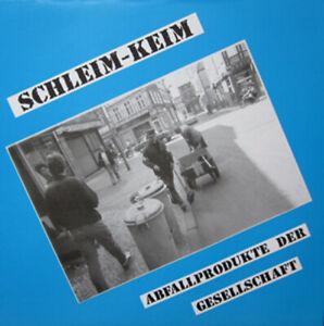 SCHLEIM KEIM - ABFALLPRODUKTE DER..LP, re-release, otze, paranoia, müllstation