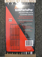 "Grill Parts Pro Adjustable Coated Replacement Cooking Grate 6"" Wide 14"" to 20"" D"
