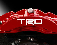 TOYOTA TRD Premium Brake Caliper Decals Stickers x 9 VARIOUS COLOURS and SIZES