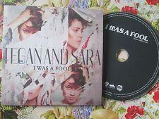 Tegan And Sara – I Was A Fool  Warner Bros. Reprise Records UK Promo CD Single