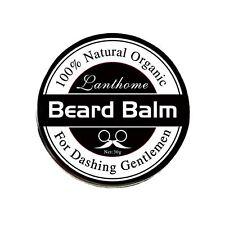 Men 100% Natural Organic Beard Moustache Balm Style Moisturise ProGrowth Wax 30g