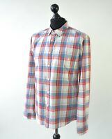 BARBOUR STEVE MCQUEEN CHECKED LONG SLEEVE SHIRT SIZE M-L