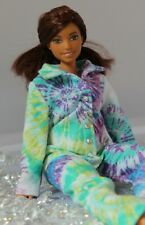 #020 Clothes for Barbie Doll Flannel Pajamas for Dolls