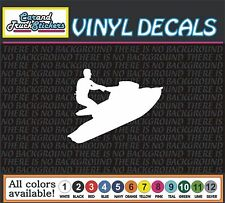 Waverunner Jetski Seadoo Vinyl Car Decal window sticker