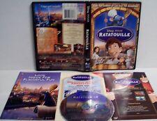 Walt Disney Pixar's Ratatouille DVD Widescreen Remy Linguini Paris Restaurant