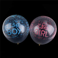 10pcs it is a boy/girl latex balloons for birthday baby shower party decor lc