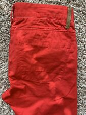 Esprit Mens Red Chino 32x32